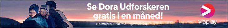 Gratis viaplay i en måned med Dora