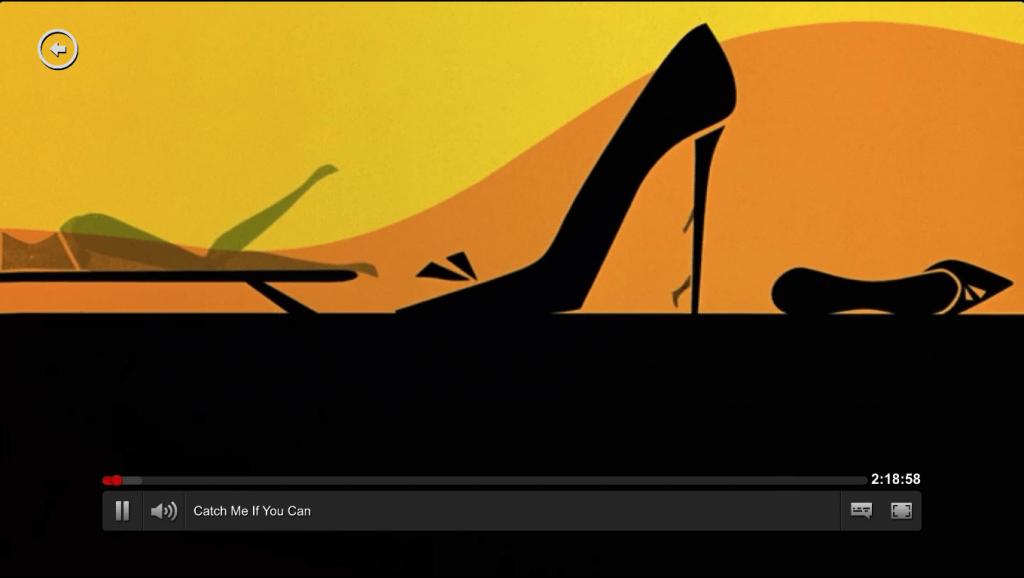 Videokvalitet og afspiller Netflix